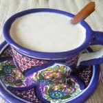 Atole-boiled maize drink