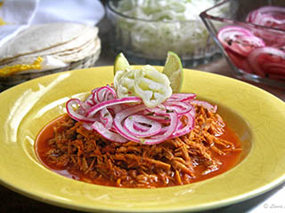 Mexican Pollo Pibil - Mexican Dishes