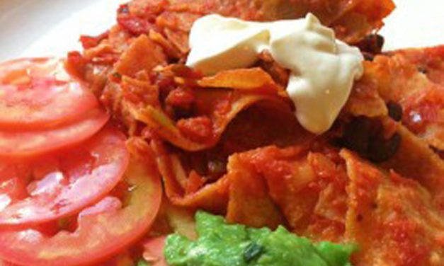Crazy-Fast Red Chilaquiles