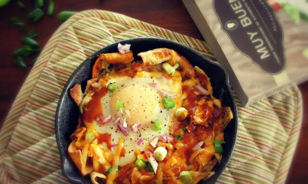 Mexican Breakfast Chilaquiles Rojos