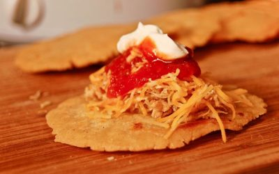 Shredded Chicken Gorditas