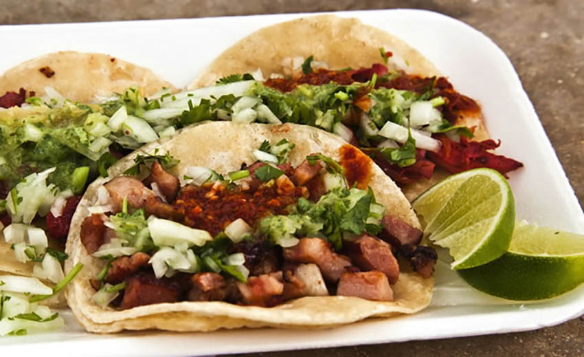 Authentic Mexican Pork Tacos