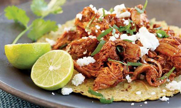 Chicken en Adobo Taco