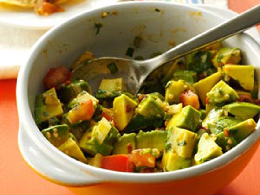Three-Pepper Guacamole