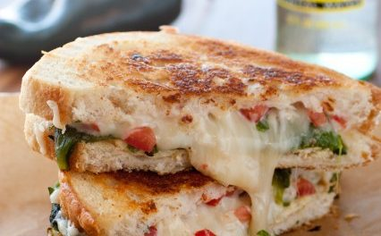 Chile Relleno Grilled Cheese