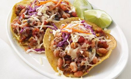 Chipotle Beef Tostada